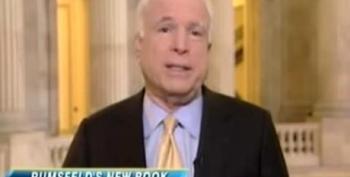 McCain: 'Thank God' Rumsfeld Was Fired