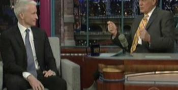 Letterman Talks To Anderson Cooper About His Experience In Egypt