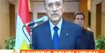 Egyptian VP Announces Mubarak Resignation