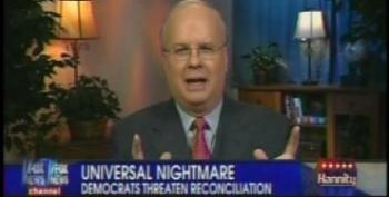 A Year Ago, Karl Rove Claimed It Was Outrageous For Democrats To Use Reconciliation For Health-care Reform