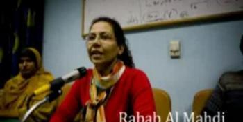 Rabab Al Mahdi Reacts To Mubarak Leaving