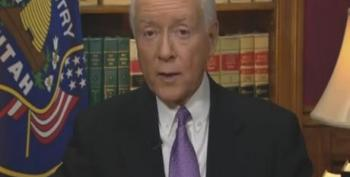 Orrin Hatch Responds To President Obama's Weekly Address