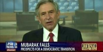 Wolfowitz Asks If A Political Party Can Be Considered Legitimate If They Don't Concede Equal Rights To Women