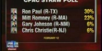 Ron Paul Wins CPAC Straw Poll Vote Again