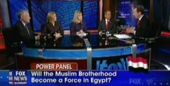 Kristol And Cheney Weigh In On Egyptian Protests -- Push For Heavier US Hand In Iran
