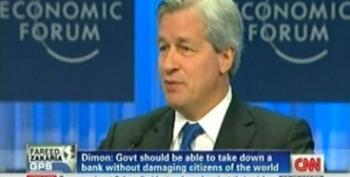 Jamie Dimon: Don't Be Hatin' On Bankers When It's All YOUR Fault!