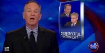 O'Reilly Thinks David Gregory Was 'Disrespectful' To Boehner In MTP Interview