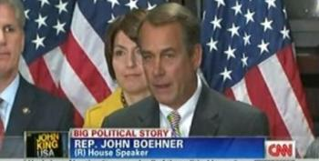 Boehner: If Government Jobs Are Lost From Spending Cuts 'So Be It'