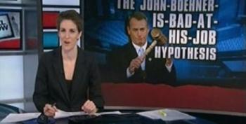 Rachel Maddow Asks If John Boehner Is Bad At His Job