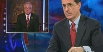 Colbert Takes A Shot At Glen Beck And His Fearmongering Of Islamic Caliphate