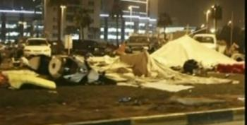 BBC: 'Scenes Of Panic And Chaos' In Bahrain