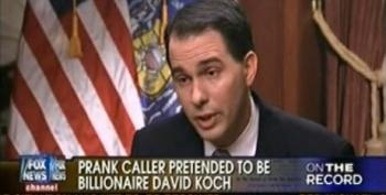 Scott Walker Claims He's Never Met The Koch Brothers And Doesn't Know Who Breitbart Is