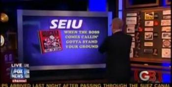 Glenn Beck Is In A Lather Over The New SEIU Fight Song
