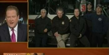 Ed Schultz Talks To New Jersey Policemen And Firefighters About 'Tough Guy' Chris Christie