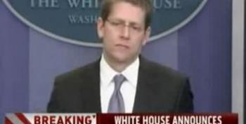 White House Announces Sanctions Against Libya