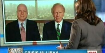 McCain And Lieberman Urge For More US Involvement In Libya