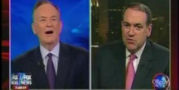 Huckabee Gets A Friendly Spin From O'Reilly, Who Thinks Remarks About Obama's Father And Grandfather Were 'Valid Point'
