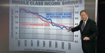 Ed Schultz: The Economic State Of The Middle Class Is Tied To Union Membership