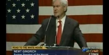 Newt Gingrich Calls For Radical Replacement Of Secular Socialist Left