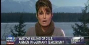Sarah Palin Scoffs At The Notion Of Giffords Shooting As An Act Of Terrorism