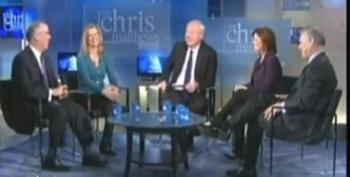 Matthews Forgets To Mention O'Keefe In NPR 'Sting' And Asks If Network Could Be Made More 'Centrist'