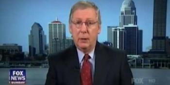McConnell Promises GOP Senators Will Hold Debt Ceiling Hostage