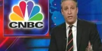 Jon Stewart Rips CNBC, Santelli & Kramer Over Their Business Reporting