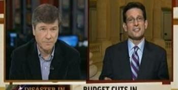 Jeffrey Sachs Asks Cantor About Cuts To NOAA And Closing Loopholes On Offshore Tax Havens