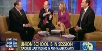 Fox's Peter Johnson Compares Students At WI Protests To Something Out Of Red China