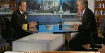 David Gregory Asks About Humanitarian Double Standard Justifying Libyan Attacks But Not How We Can Afford It