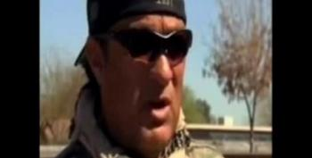 Sheriff Joe Arpaio And Steven Seagal Ride Tanks To Bust Up Chickens In AZ