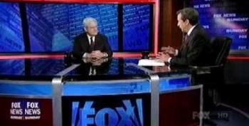 Gingrich Admits To A Double Flip-flop On Libya Intervention
