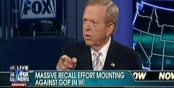 Megyn Kelly And Lou Dobbs Are Terribly Concerned About The Wisconsin Recall Efforts