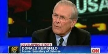 Rumsfeld Credits Our Occupation In Iraq For Pro-Democracy Uprisings