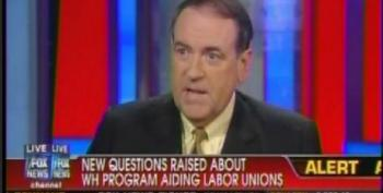 Huckabee Calls Democrats' Union Support 'Forced Labor,' Says Health-care Reform Is 'A Modern-day Poll Tax'