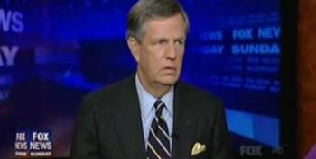 Brit Hume Speechless When Juan Williams Points Out That GE Paid No Federal Taxes