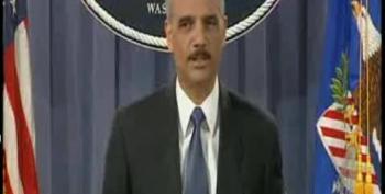 Holder Points Finger At Congress For Forcing 9/11 Military Tribunals