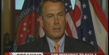 House Republicans Preparing For Government Shutdown