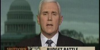 Mike Pence Says He'd Shut Down The Government To Defund Planned Parenthood