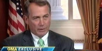 Boehner: 'There Is No Daylight Between The Tea Party And Me'