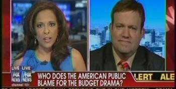Frank Luntz's Latest Talking Point -- Comparing A Family's Budget To The Government's