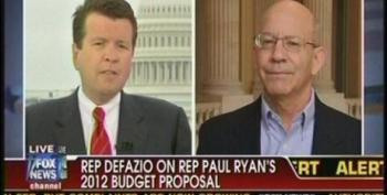 Rep. Peter DeFazio Does A Good Job Beating Back At Neil Cavuto's Republican Taking Points On The Deficit