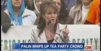 CNN's Coverage Of The Tax Day 'Tea Party' Protests 2011