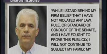 Sen. John Ensign Resigns Amid Ethics Scandals