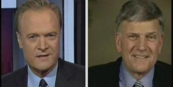 Lawrence O'Donnell Skewers Franklin Graham For Pretending He Doesn't Know Obama Is A Christian
