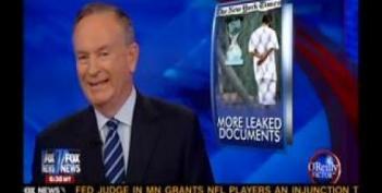 Bill O'Reilly And Bernie Goldberg Clash Over Wikileaks