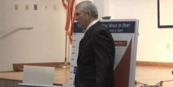 Florida's Rep. Dan Webster Shouted Down In Town Hall