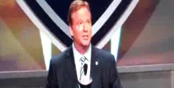 Roger Goodell Booed By Fans At NFL Draft