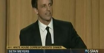 Trump Gets Skewered By Seth Meyers At White House Correspondents Dinner