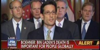 Eric Cantor Credits Bush For Killing Bin Laden